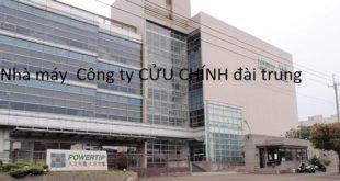 [XKLĐ ĐÀI LOAN] Tuyển 06 nam làm cơ khí tại nhà máy Khánh Hân Hân ĐÀI TRUNG 2020
