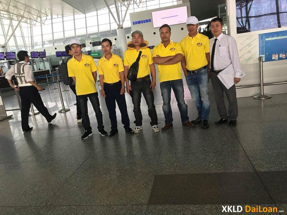 Tổng hợp các đơn hàng tháng 12 đi Đài Loan 1